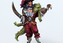 Pirate miniatures