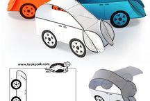 hračky z papiera