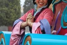 Mulan parade voiture