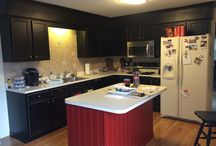 Updated Kitchens / Refinishing kitchen cabinets can give a kitchen new life!