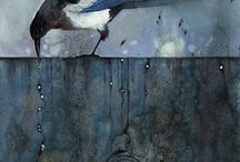 Magpie art