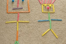 Popsicle stick crafts / by Carmen Duncan