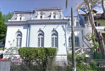 French Second Empire Ideas / These are screenshots from Google Street View. I collect them for ideas for architectural drawings I will do in the future.
