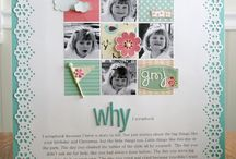 Scrapbooking Layout Ideas / by Teresa Gau VanderMeulen