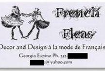 French Fleas / Home decor and design à la mode de Français. / by Georgia Vetsch-Espino