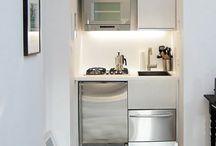 Tiny office kitchens
