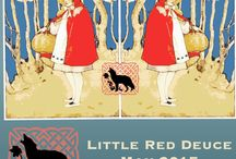 May 2015: Little Red Deuce / Little Red Deuce is a double book box targeting empowerment, safety and compare/contrast!  A positive and empowering way to teach children the importance of safety!