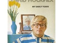 David Hockney : Sunshine Dandy. Pop Artist. Pool Guy. / http://www.theuniquecreatures.com/david-hockney/