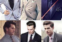 Men's Fashion / by Tamara Bolton