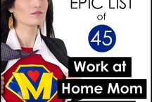 jobs for @ home moms