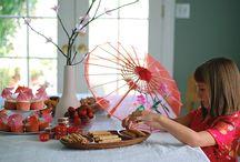 Birthday party  / Mimi wants mulan birthday party.