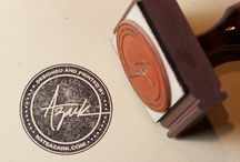 Stamp/emblem designs