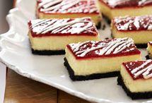 barre de gâteau au fromage