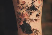 Koci tatuaż