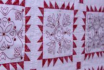 Quilts Redwork
