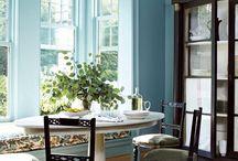 Färg, väggar och rum