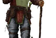 male rpg character / character arts of men for rpgs like D&D oder DSA #rpg #character #male #fantasy