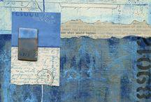 collage calligraphique
