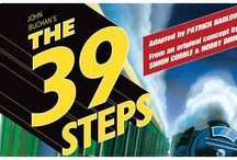 """""""The 39 Steps"""" - 2016 Season - June 1 - 19, 2016 / Mix a Hitchcock masterpiece with a juicy spy novel, add a dash of Monty Python and you have THE 39 STEPS, a fast-paced whodunit for anyone who loves the magic of theatre! This 2-time Tony and Drama Desk Award-winning treat is packed with nonstop laughs, over 150 zany characters (played by a ridiculously talented cast of 4), an on-stage plane crash, handcuffs, missing fingers and some good old-fashioned romance!"""