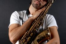 Portrait of Rodrigo Martins Argollo Galvão / Barcelona based saxofonist