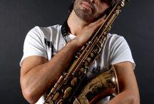 Portrait of Rodrigo Martins Argollo Galvão / Barcelona based saxofonist