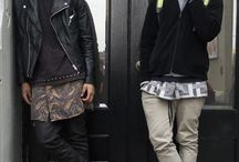 Men's streetstyle/ style