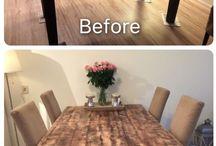 voorbeeld meubels verven
