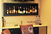 Home bar ideas / by Susan Peddle