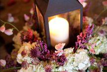 Gray & Shades of Purple Wedding / Inspiration for plum, wine, purple and gray weddings