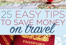 Saving Money on Travel / Travel can be hard on your budget, but there are always tips and tricks to stretch your dollars further.