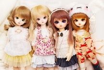 Dolls / by Lydiath X