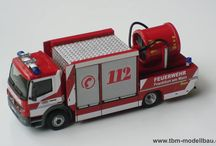 Metall Modell Trucker