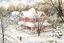 vianočne krajinky