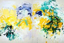 Artist: Joan Mitchell / by Art by Wietzie