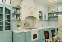 кухня прованс и Шебби