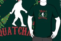 BIGFOOT T-SHIRTS & APPAREL / Bigfoot T-Shirts & Apparel