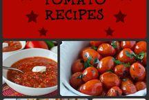 Tomato recipes  / by Kim McKee