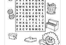 caça palavras - 246 atividades de alfabetização