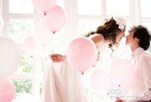 Balloon Theme / Wedding balloons, part balloons, hot air balloon, couple photos, engagement photos, love balloons.