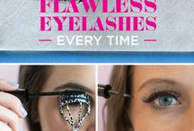 mascara mondays / Learn how to prevent clumps, easily apply false lashes, make your mascara last longer, and more!