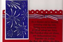 Independence Day Card Samples / Hand Made Cards