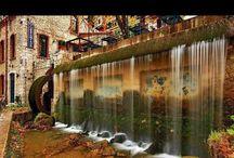 water curtaian