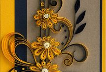 The art of paper quilling / ideas for cards. craft & pages to quill for family or friends