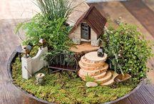 Jardim Mini - Design Zen - Modelismo