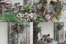 Rustikale Gärten