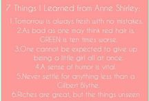 "Anne with a ""e"""