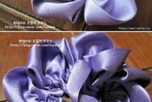 Creare fiori di stoffa e carta