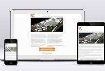 Recent Work / Websites and other recent design work from Crimson Leaf Studios.