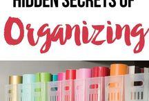 Organized / by Amy Dennis