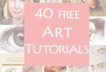 Pinterest art Tutorials